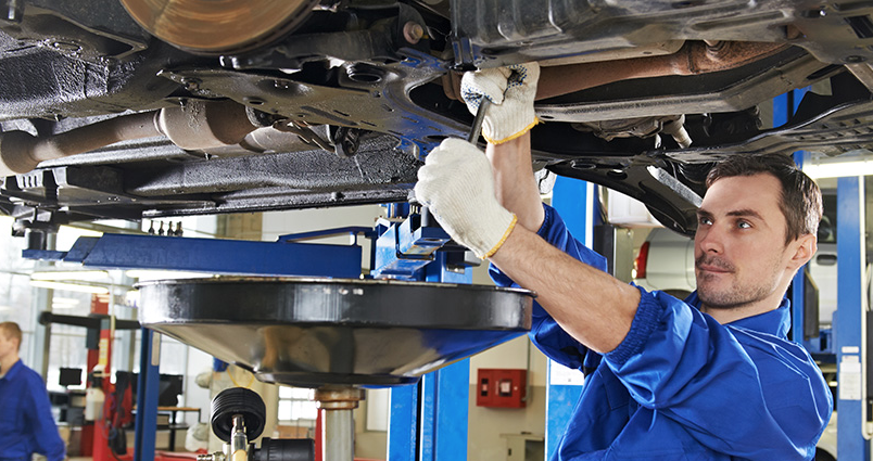 car servicing and maintenance